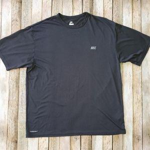 Nike training running tee shirt sz L black